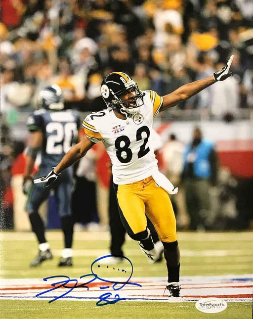 Antwaan Randle-El Autographed Running (Airplane) 8x10 Photo