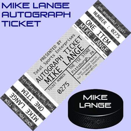 AUTOGRAPH-TICKET: Good For One Catch Phrase (Choose from 4 Options) Inscription by Mike Lange (Autograph Ticket Sold Separately) Buy Me a Banjo in Biloxi