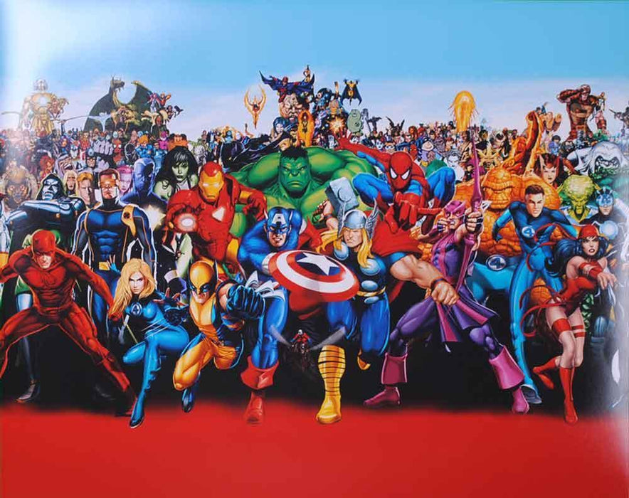 Avengers Collage 16x20 Photo - Unsigned