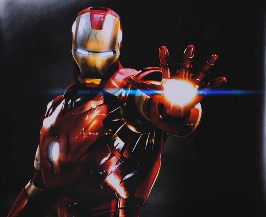 Avengers Ironman Glowing Palm 16x20 Photo - Unsigned