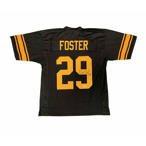 Barry Foster Autographed Custom Alternate Jersey