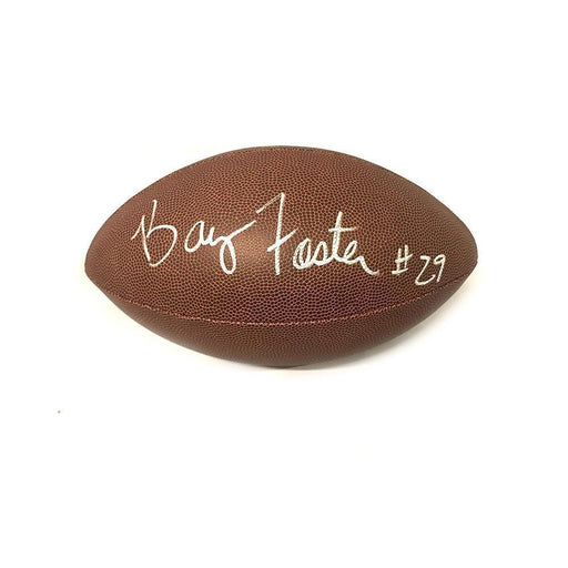 Barry Foster Autographed Replica Football