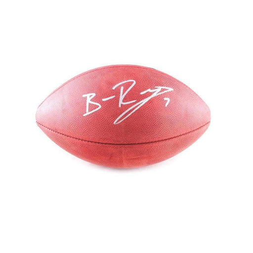 Ben Roethlisberger Signed Authentic Football