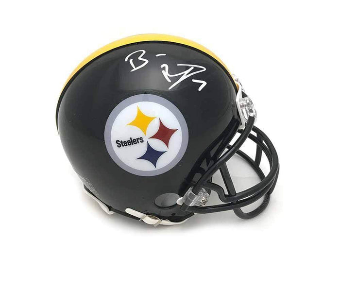 Ben Roethlisberger Signed Pittsburgh Steelers Black Mini Helmet