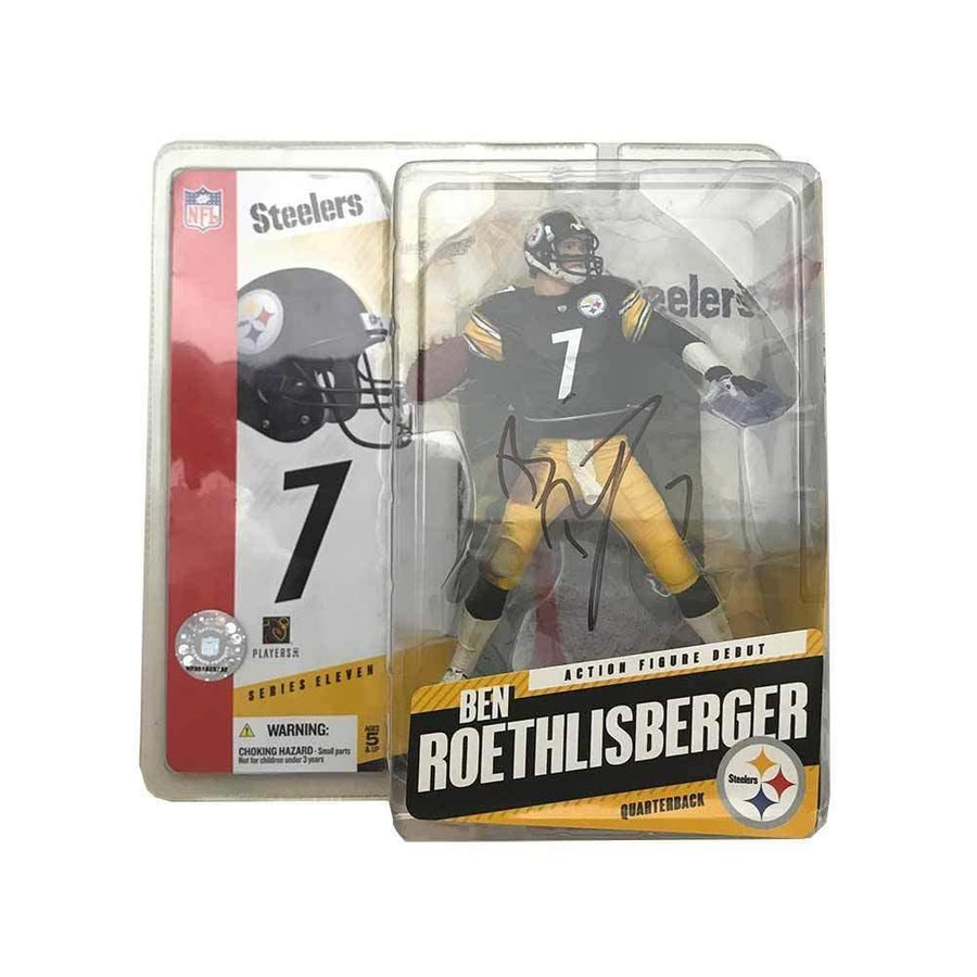 Signed STEELERS Other Items Ben Roethlisberger Signed Ready to Throw Autographed McFarlane