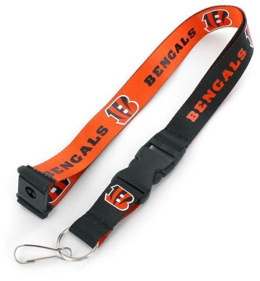 BENGALS (ORANGE / BLACK) REVERSIBLE LANYARD