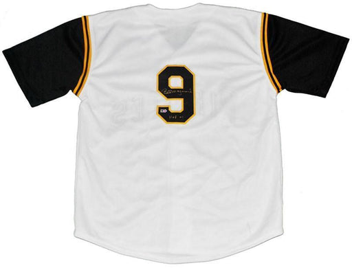 Bill Mazeroski Autographed 1960 Custom White Vest with Sleeve Inserts and Inscription 'HOF 01'
