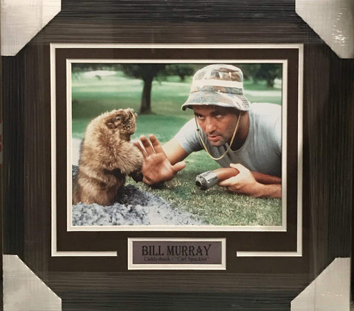 Movie Photos Bill Murray with Gopher 11x14 - Professionally Framed