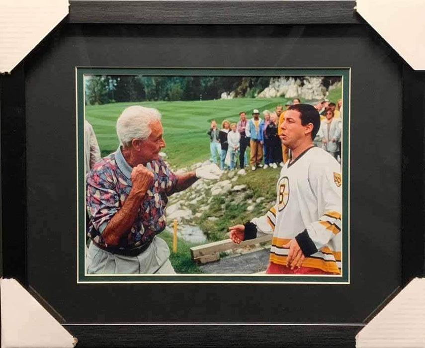 Bob Barker About to Fight Adam Sandler from Happy Gilmore Horizontal 11x14 Photo - Professionally Framed