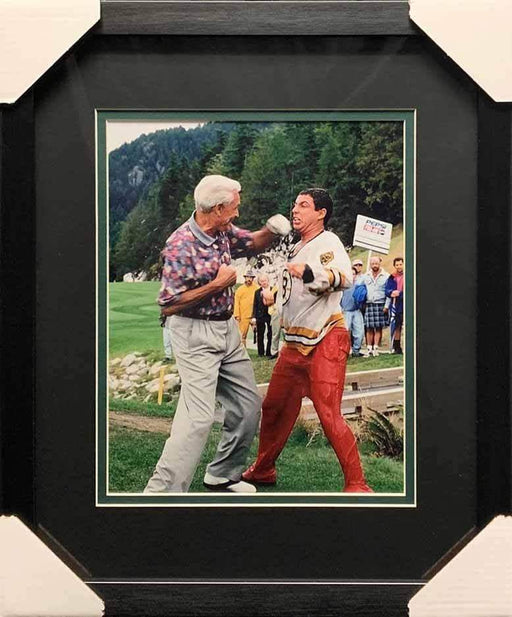 Bob Barker Fighting Adam Sandler from Happy Gilmore Vertical 11x14 Photo - Professionally Framed