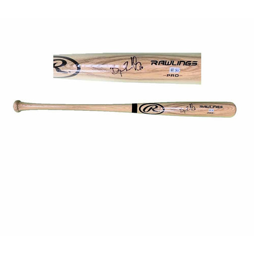 Bryan Reynolds Signed Blonde Baseball Bat