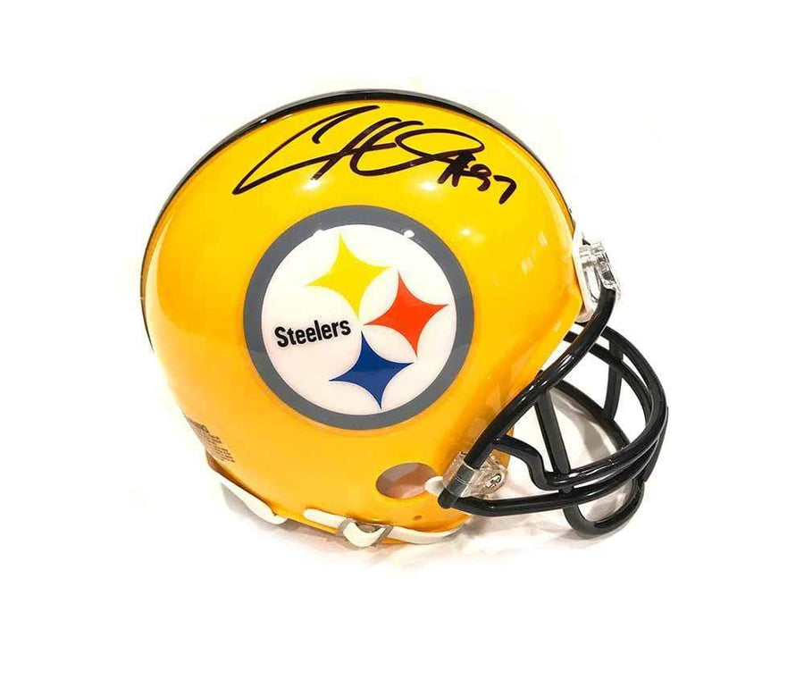 Cameron Heyward Signed Pittsburgh Steelers 75th Anniversary Mini Helmet