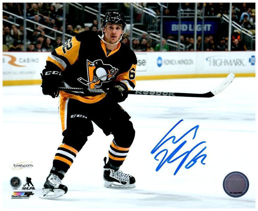 Carl Hagelin Autographed Stick Up 8x10 Photo