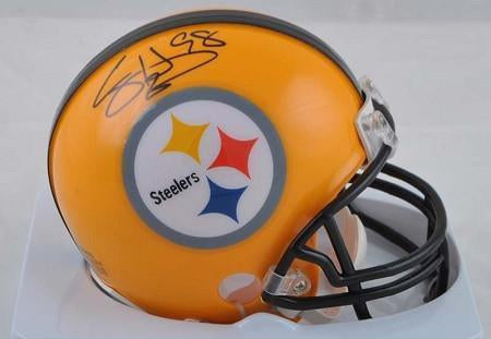 Casey Hampton Autographed Pittsburgh Steelers Yellow 75th Ann. Mini Helmet