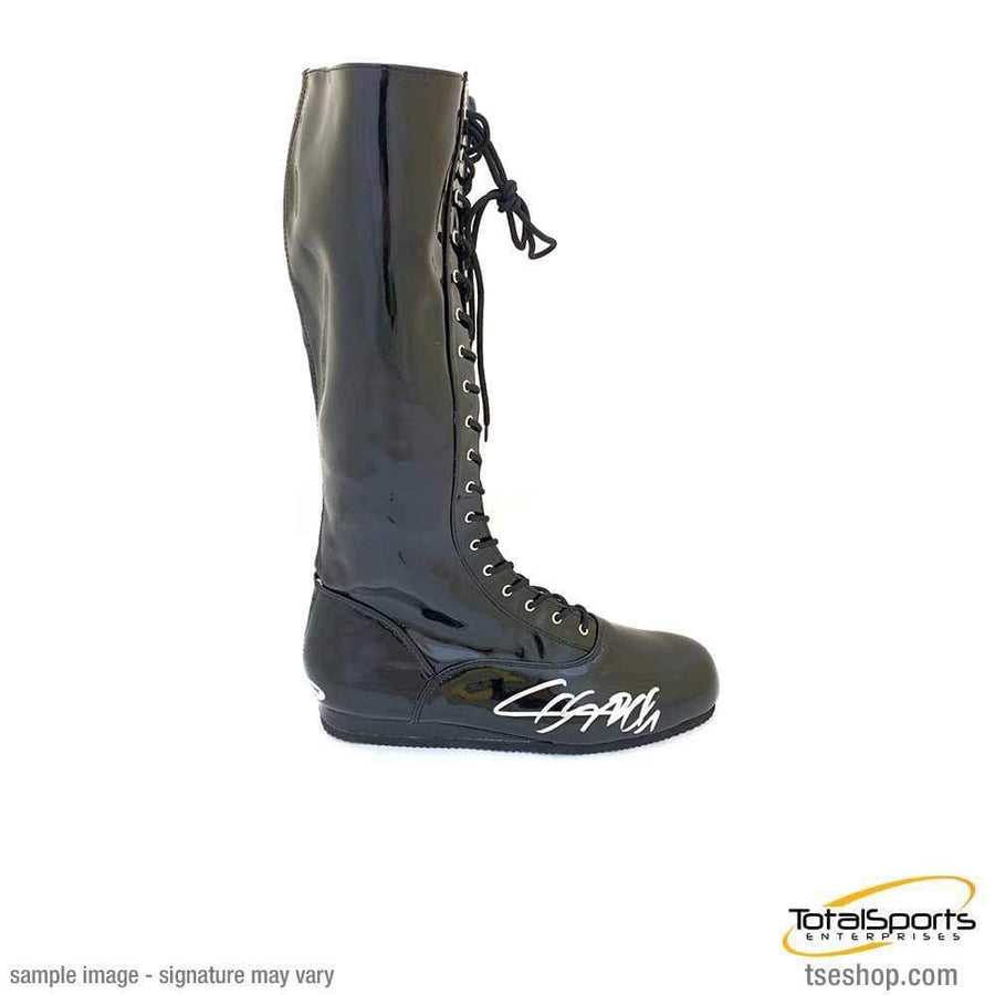 CESARO Signed Black Boot