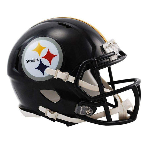 CHANTILLY PRE-SALE: Devin Bush Signed Pittsburgh Steelers Black SPEED Mini Helmet