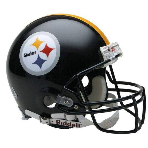 CHANTILLY PRE-SALE: Devin Bush Signed Pittsburgh Steelers Replica Full Size Helmet