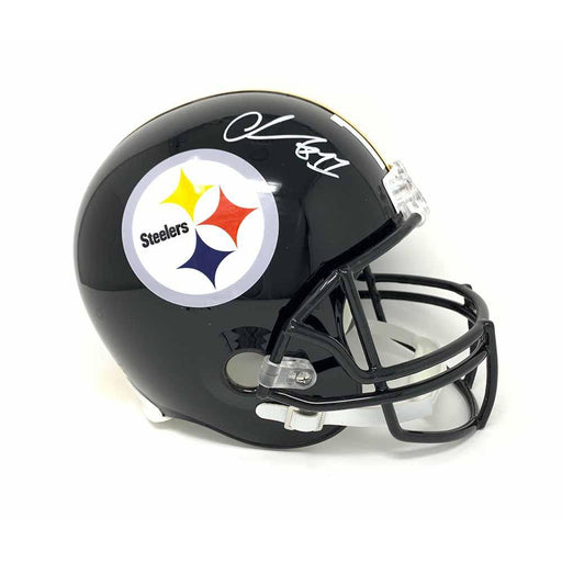 Chase Claypool Signed Pittsburgh Steelers Replica Full Size Helmet