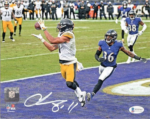 Chase Claypool Signed TD Vs. Ravens 16x20 Photo
