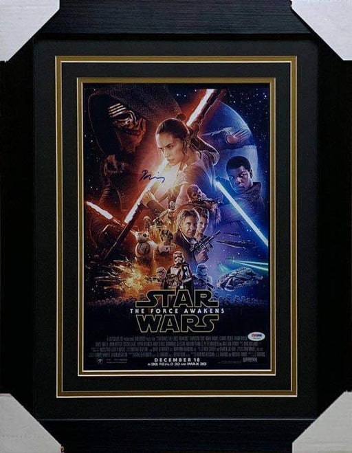 Daisy Ridley Signed Star Wars The Force Awakens 11x17 Movie Poster - Professionally Framed