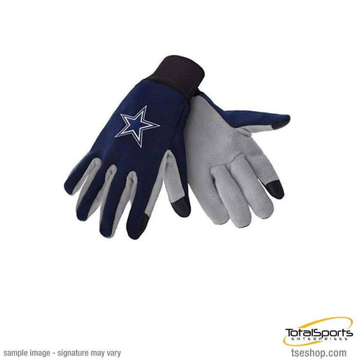 Fan Apparel Souvenirs Football NFL Dallas Cowboys Texting Gloves