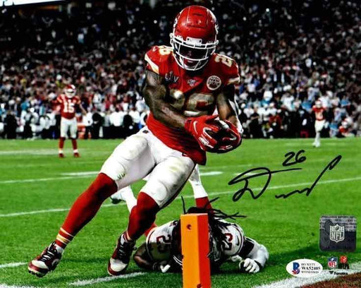 Damien Williams Signed Scoring Over Sherman 16x20 Photo