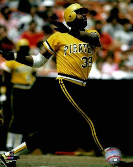 Dave Parker Swinging in Yellow Unsigned Licensed 8x10 Photo
