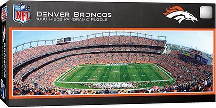 Denver Broncos 1000pc Pano Puzzle