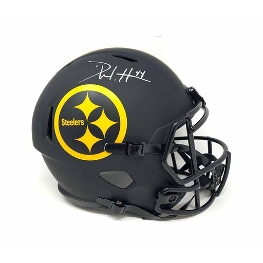 Derek Watt Signed Pittsburgh Steelers Replica Eclipse Full Size Helmet
