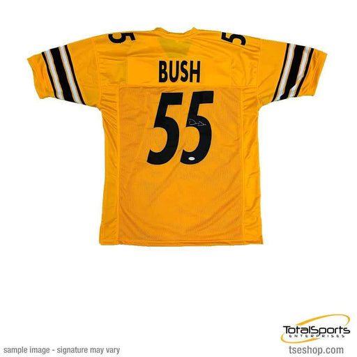 Devin Bush Signed Custom Reverse Jersey