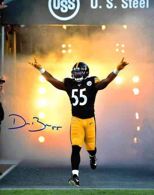 Devin Bush Signed Entrance 16x20 Photo