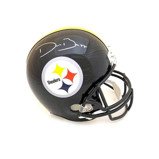 Devin Bush Signed Pittsburgh Steelers Replica Full Size Helmet