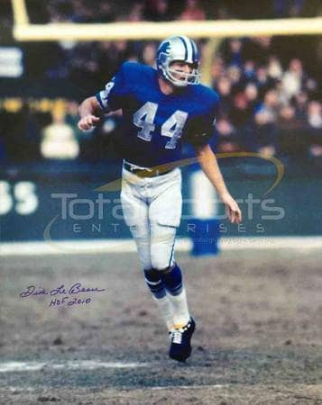 Dick LeBeau Signed Detroit Lions 16x20 photo with HOF 2010