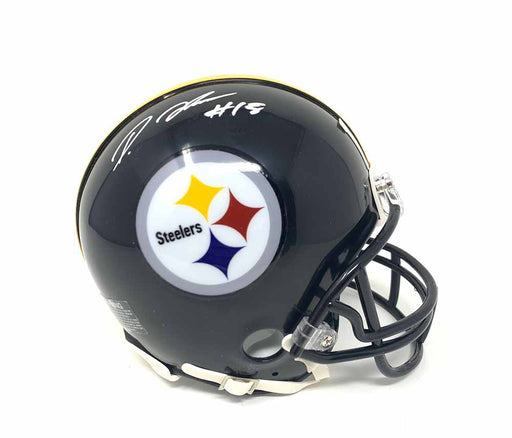 Diontae Johnson Autographed Pittsburgh Steelers Mini Helmet