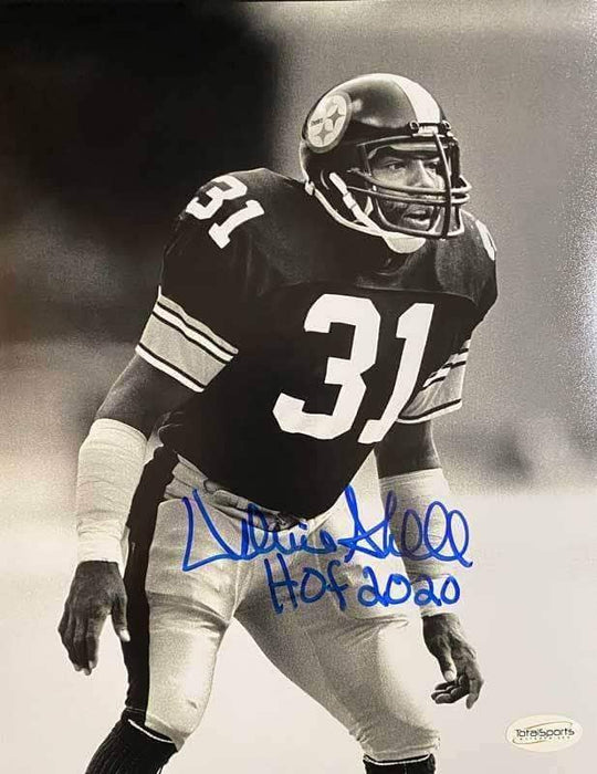 Donnie Shell Signed (Full Signature) Ready 16x20 Photo with New HOF 2020 - DAMAGED