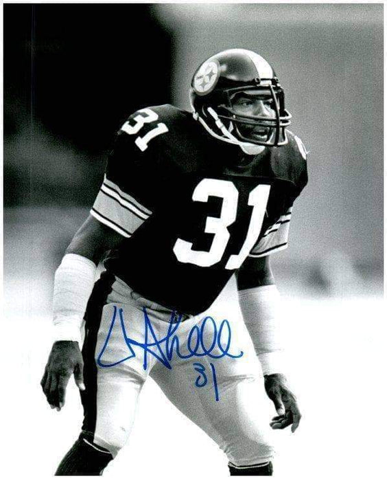 Donnie Shell Signed Ready B&W 16x20 Photo