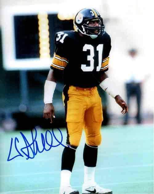 Donnie Shell Signed Standing on Field 8x10 Photo