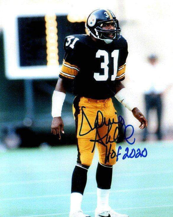 Donnie Shell Signed Standing on Field 8x10 Photo with New HOF 2020
