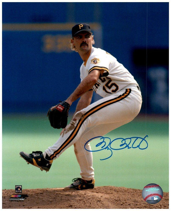 Doug Drabek Pitching Front View 8x10 Photo - Signed