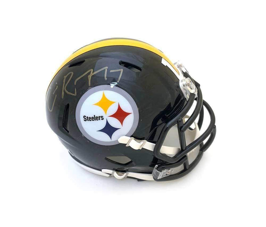 Eli Rogers Autographed Black Pittsburgh Steelers SPEED Mini Helmet