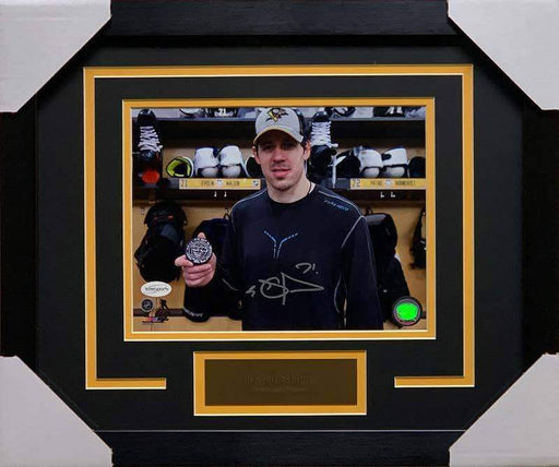 Evgeni Malkin Autographed 1,000 Points 8x10 Photo - Professionally Framed