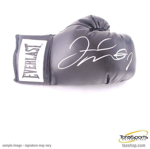 Floyd Mayweather Signed Black Boxing Glove