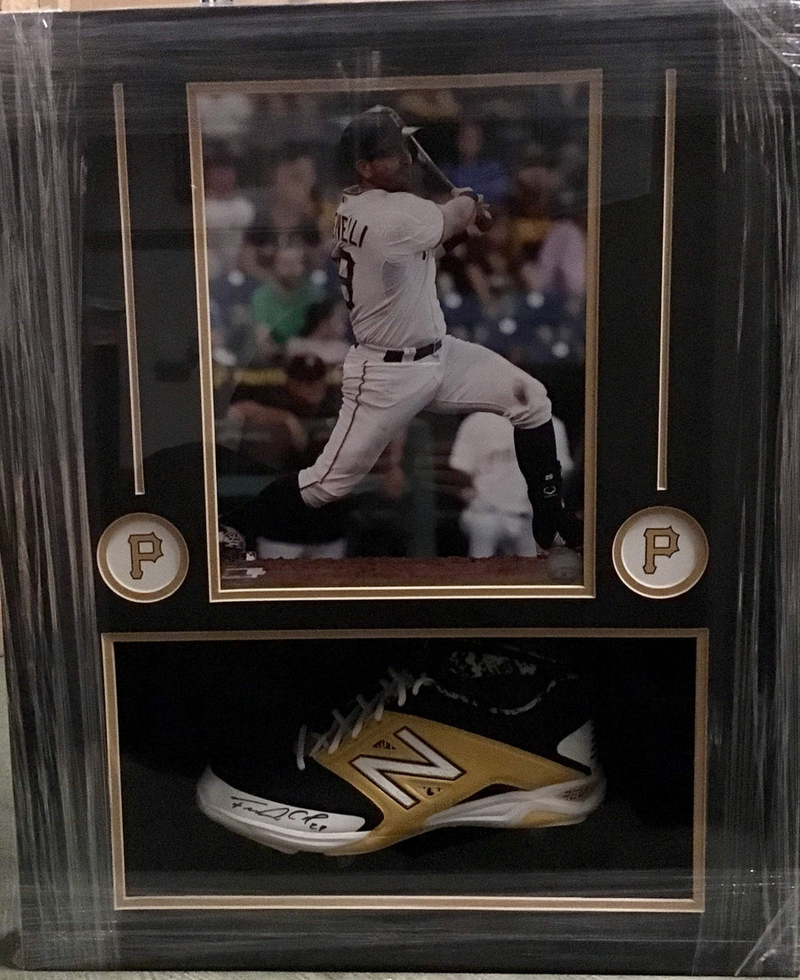 Francisco Cervelli Signed Cleat with 11x14 - Professionally Framed