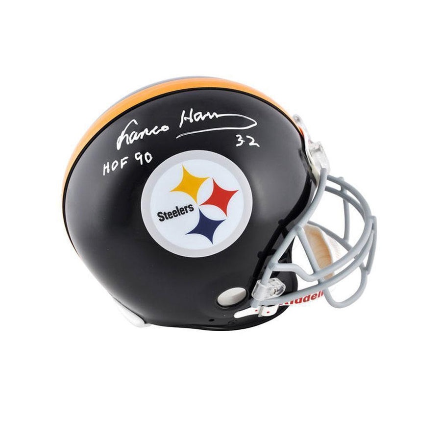 Franco Harris Autographed Authentic TB Helmet with 'HOF 90'