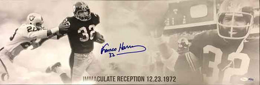 Franco Harris Signed Limited Edition Panoramic Photo