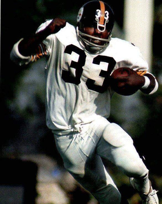 Frenchy Fuqua Running with Ball in White Unsigned 8x10 Photo