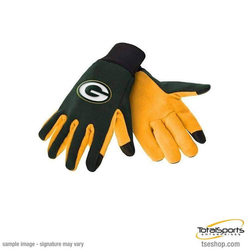 Fan Apparel Souvenirs Football NFL Green Bay Packers Texting Gloves