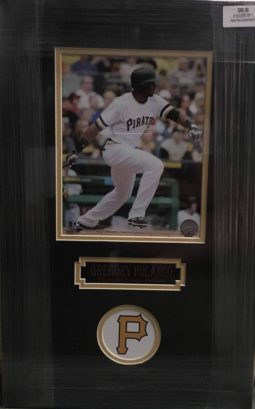 Gregory Polanco Batting 8x10 Unsigned - Professionally Framed