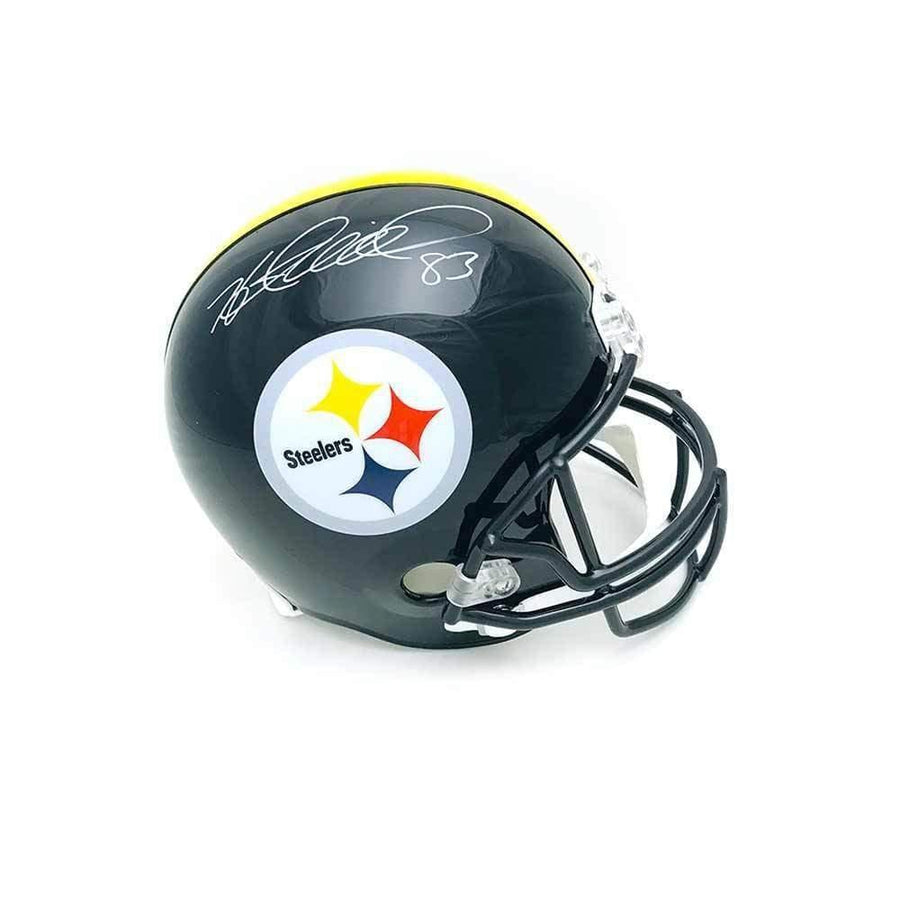 Heath Miller Autographed Pittsburgh Steelers Black Full Size Replica Helmet