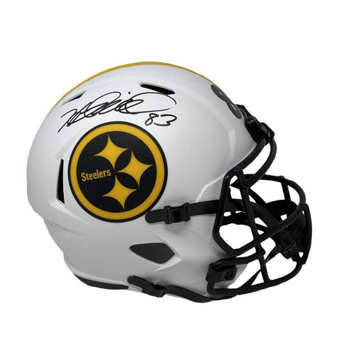 Heath Miller Autographed Pittsburgh Steelers Lunar ECLIPSE Full Size Replica Helmet